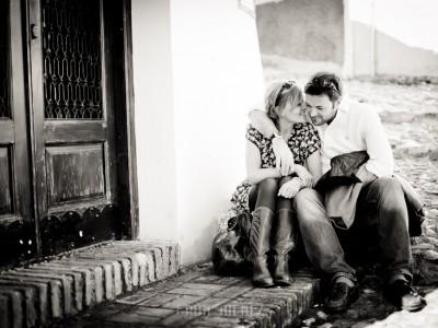 Cressida y Matt. Pre Wedding in Albaicín, Granada.