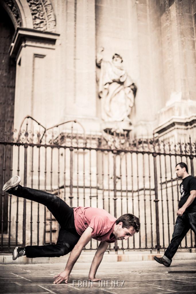 5 Fotografo en Granada. Fotografia Creativa en Granada. Fotografo diferente en Granada. Fotografo Break Dance en Granada