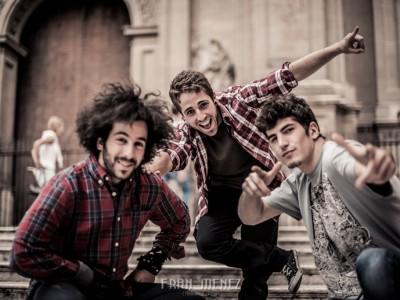 Jorge, Oscar y Victor. Sesión Break Dance en Granada.