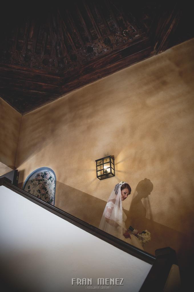 114 Fotografo Granada. Fotografia de Boda en Granada. Fran Ménez Fotografo. Hotel Palacio de Santa Paula. Iglesia del Sagrario