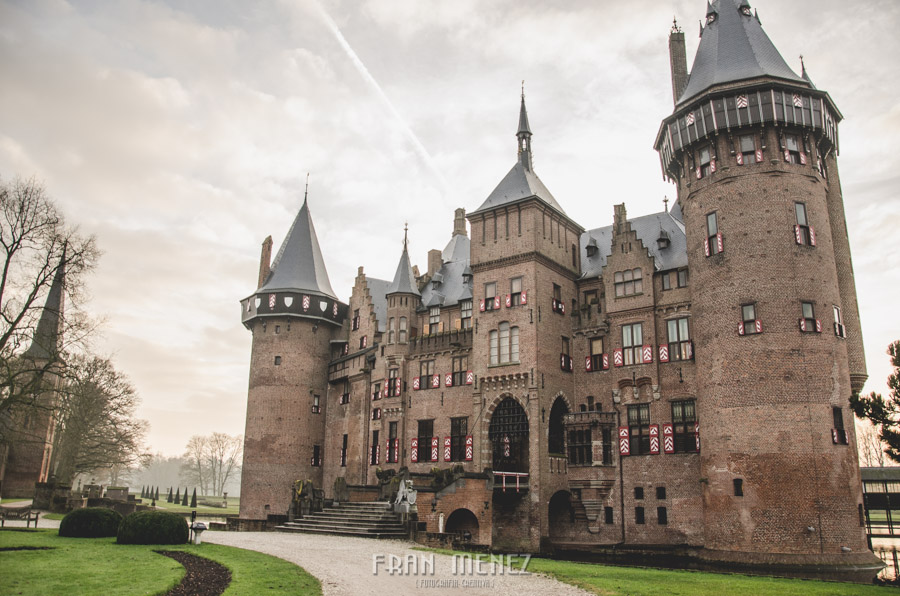 Fran Ménez. Fotógrafo en Utrecht, Holanda. Photographer in Utrecht, Holland. Castillo de Haar. Haar Castle.