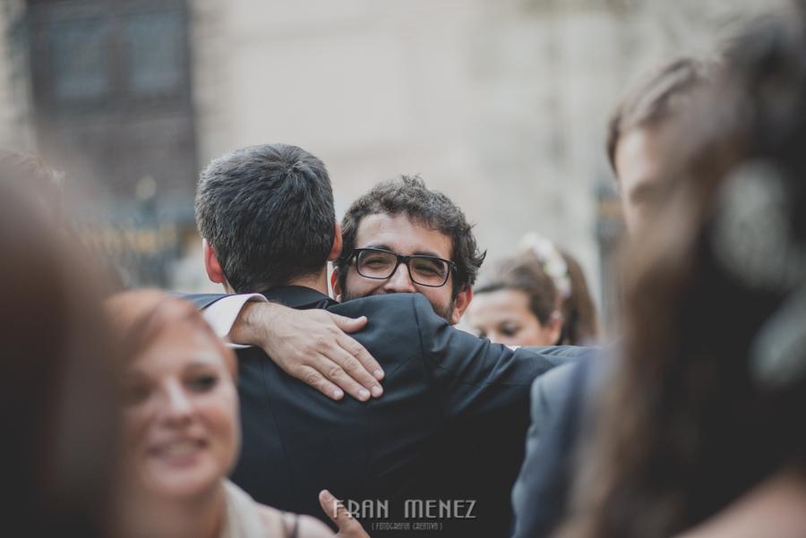 Fran Ménez Fotógrafo de Bodas en Granada. Iglesia de San Pablo y San Pedro. Carmen de los Chapiteles. Fotografía de Boda. 101
