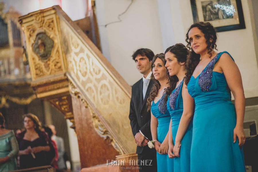 Fran Ménez Fotógrafo de Bodas en Granada. Iglesia de San Pablo y San Pedro. Carmen de los Chapiteles. Fotografía de Boda. 77