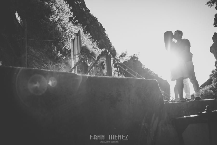 Fran Ménez Fotografía de Pre Bodas. Patty y Alex. Los Cahorros. Monachil 14
