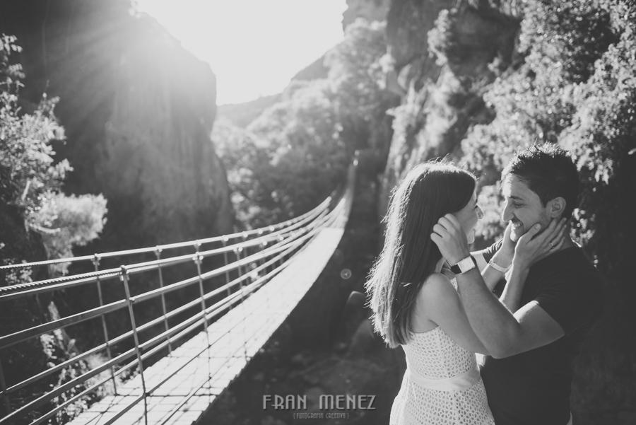 Fran Ménez Fotografía de Pre Bodas. Patty y Alex. Los Cahorros. Monachil 16
