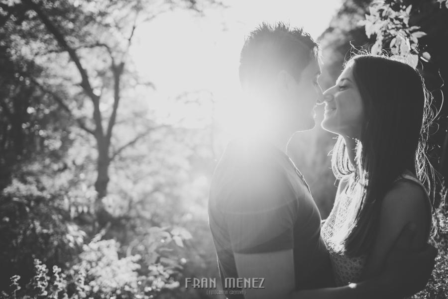 Fran Ménez Fotografía de Pre Bodas. Patty y Alex. Los Cahorros. Monachil 43