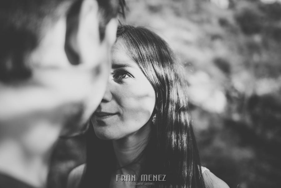 Fran Ménez Fotografía de Pre Bodas. Patty y Alex. Los Cahorros. Monachil 46