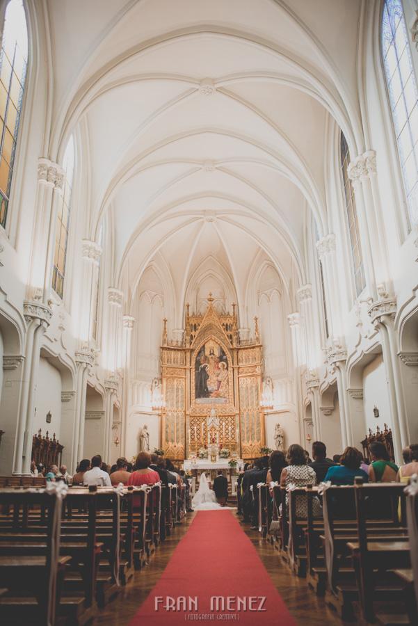 Fotografia de Bodas en Granada. Fotografo de Bodas diferentes. Fran Ménez. Huerta del Sello e Iglesia Sagrado Corazón. Boda de Bea y Miguel Angel. 59