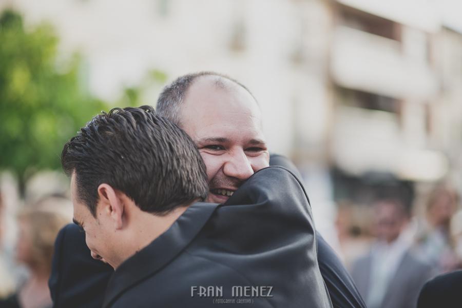 Fran Menez Fotografo de Bodas. Mamen y Fran. Boda en Granada. Tiro Pichon 100