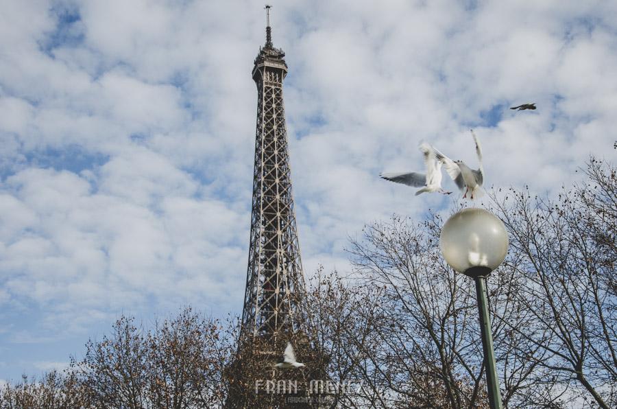 Fotografías de Paris. Fran Ménez Fotógrafo en Paris. 1 Torre Eiffel Tower