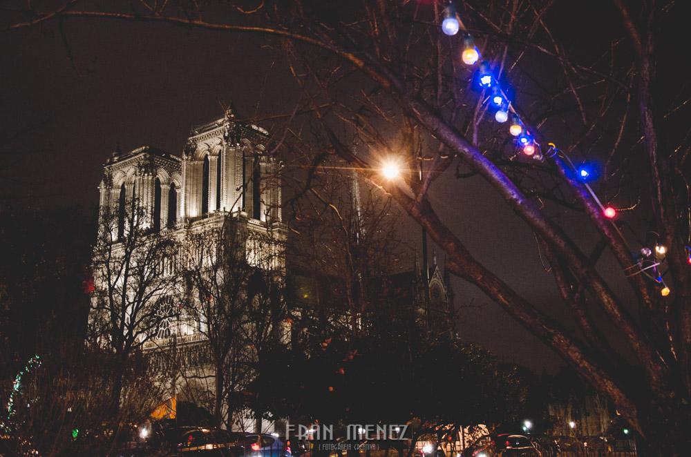 Fotografías de Paris. Fran Ménez Fotógrafo en Paris. 11 Notre Dame