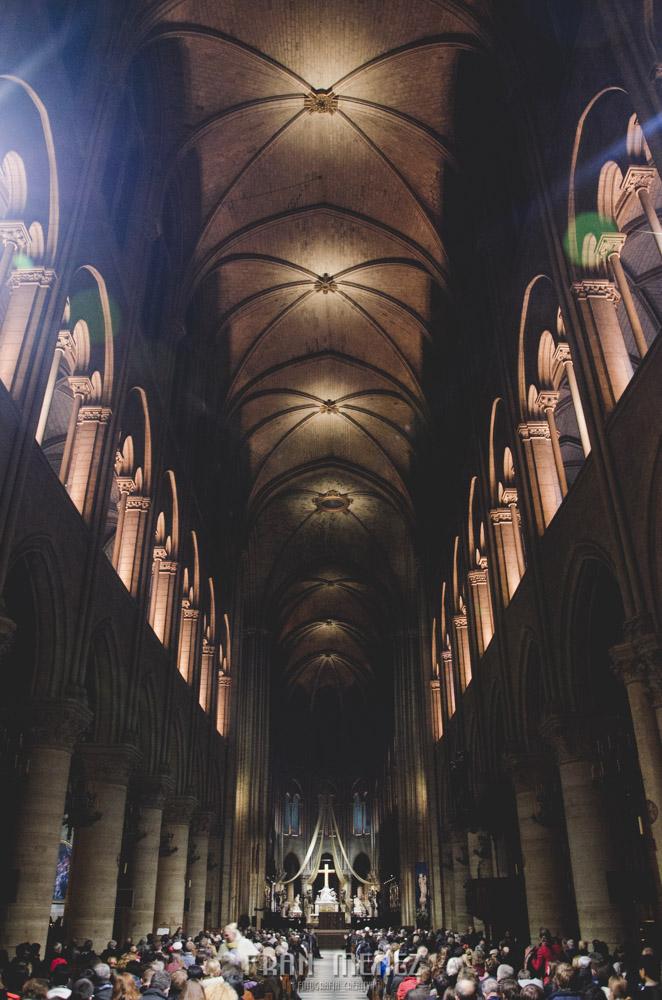 Fotografías de Paris. Fran Ménez Fotógrafo en Paris. 13 Notre Dame