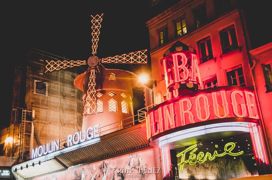 Fotografías de Paris. Fran Ménez Fotógrafo en Paris. 27 Moulin Rouge Molino Rojo