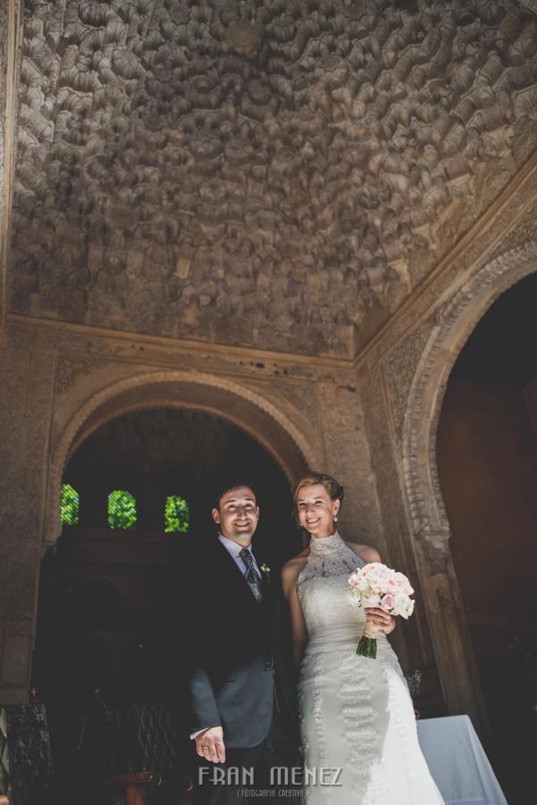 Fotografias de Boda en el Parador de Granada. Patty y Alex. Fran Menez Fotógrafo 100