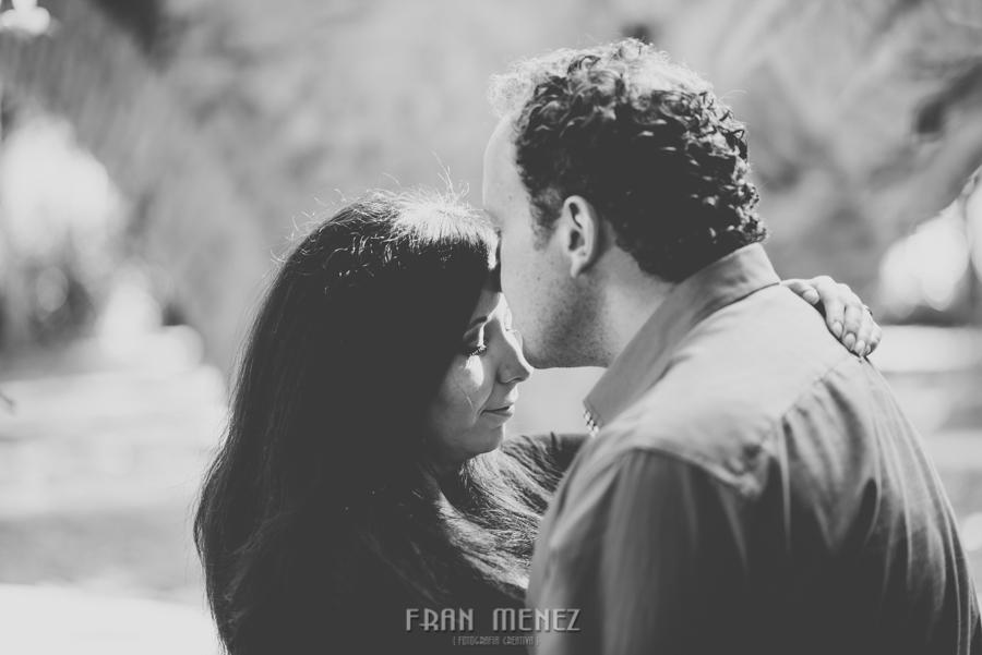 Mercedes y Alberto. Pre Boda en la Alhambra y Carmen de los Mártires. Fran Menez Fotógrafo 35