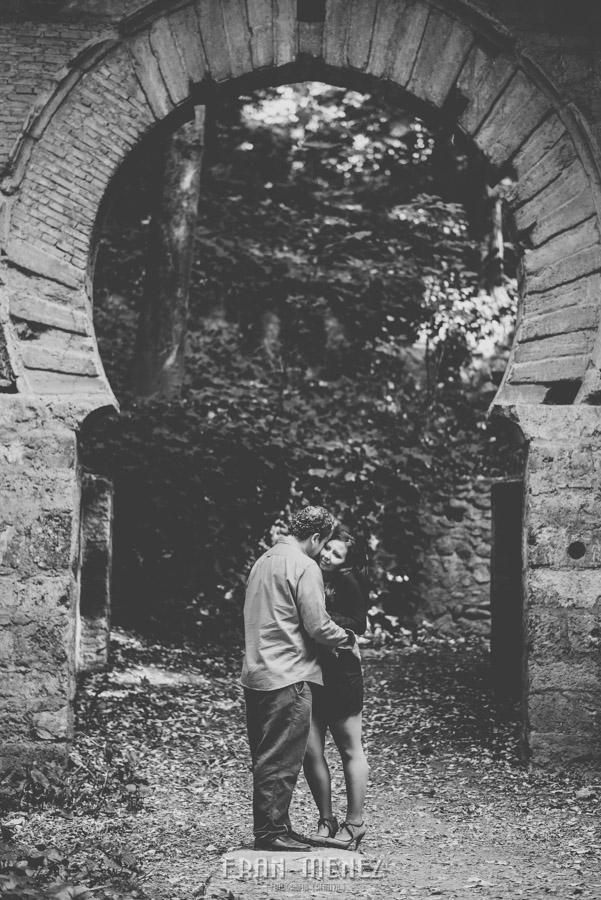 Mercedes y Alberto. Pre Boda en la Alhambra y Carmen de los Mártires. Fran Menez Fotógrafo 42