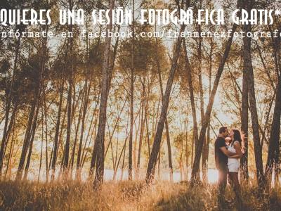 3ª Edición del concurso ¿Quieres una sesión fotográfica Gratis*?