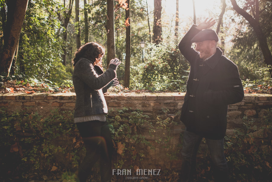 Pre Boda en los alrededores de la Alhambra. Pilar y Diego. Fran Ménez Fotografía de Parejas 11