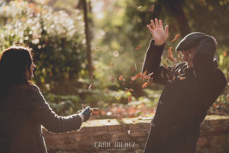 Pre Boda en los alrededores de la Alhambra. Pilar y Diego. Fran Ménez Fotografía de Parejas 13