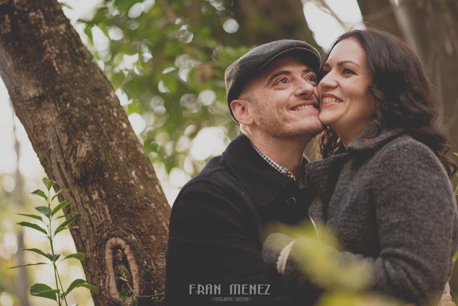 Pre Boda en los alrededores de la Alhambra. Pilar y Diego. Fran Ménez Fotografía de Parejas 22