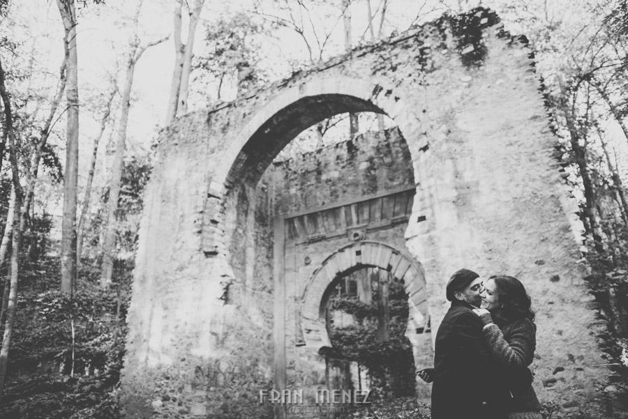 Pre Boda en los alrededores de la Alhambra. Pilar y Diego. Fran Ménez Fotografía de Parejas 45