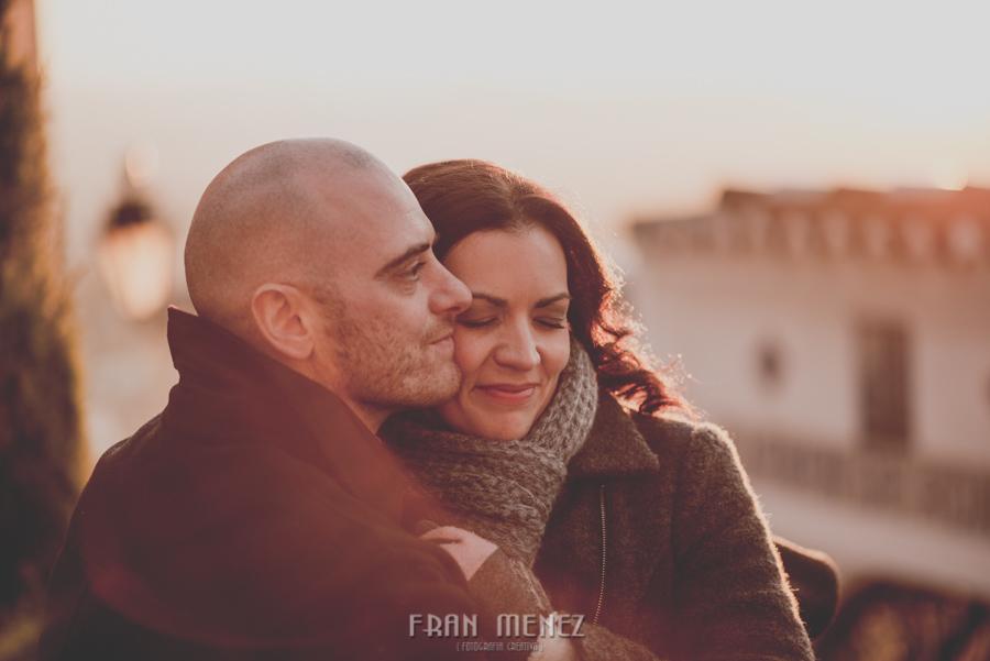 Pre Boda en los alrededores de la Alhambra. Pilar y Diego. Fran Ménez Fotografía de Parejas 52