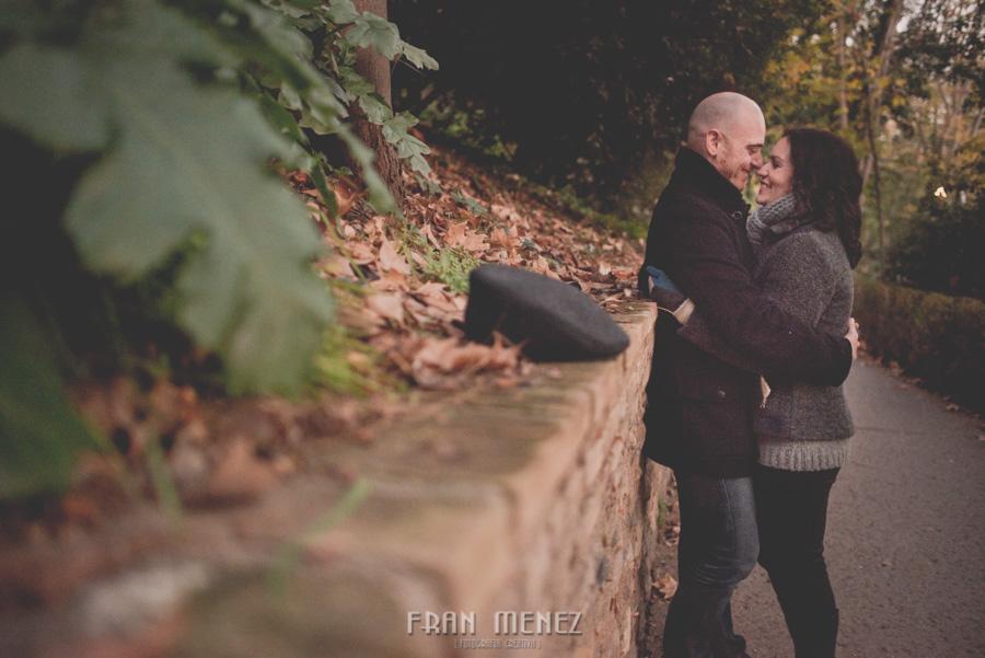 Pre Boda en los alrededores de la Alhambra. Pilar y Diego. Fran Ménez Fotografía de Parejas 64