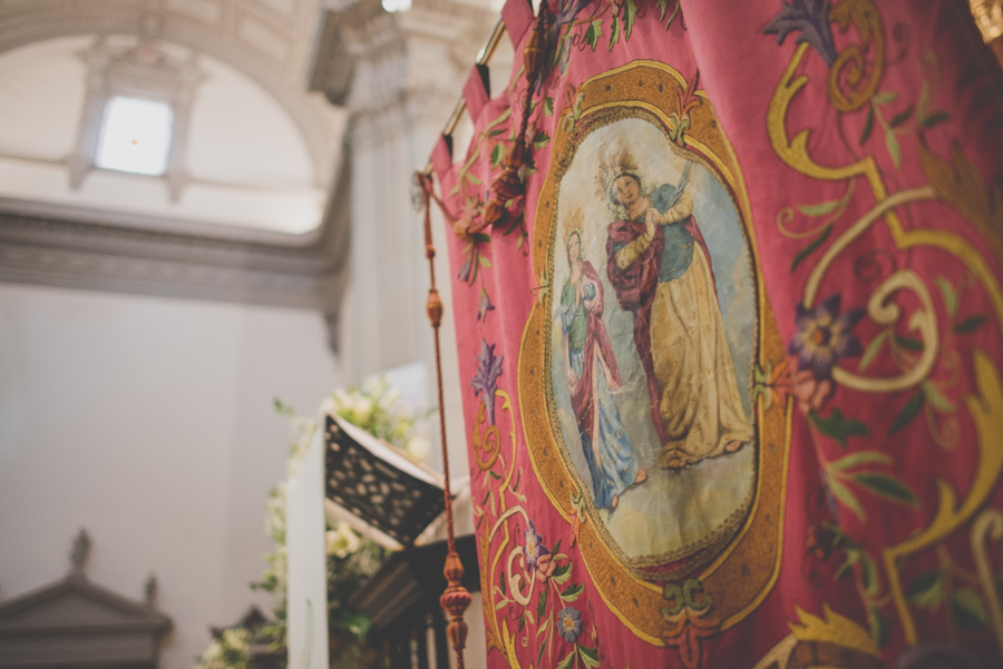 Fran Ménez. Fotógrafo de Bodas en Huescar. Iglesia Santa María La Mayor. Fotografías de Boda Yolanda y Jose 57