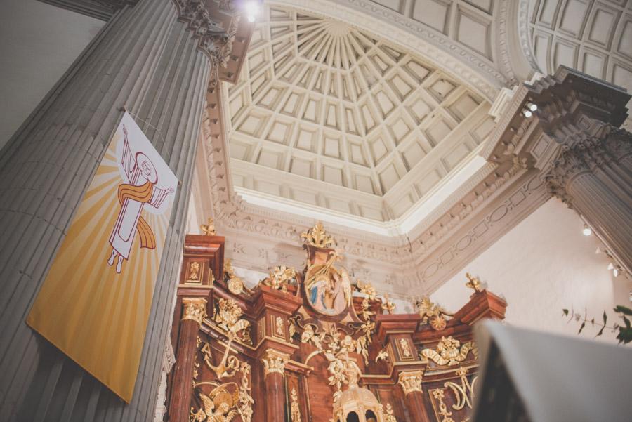 Fran Ménez. Fotógrafo de Bodas en Huescar. Iglesia Santa María La Mayor. Fotografías de Boda Yolanda y Jose 58