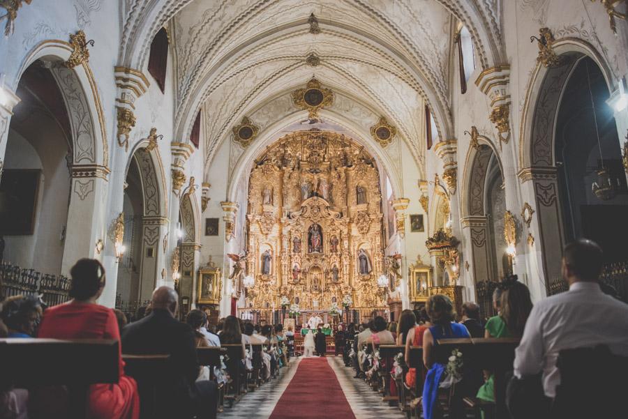 Boda en Iglesia San Matias y Carmen de los Chapiteles. Cristina y Nacho. Fran Ménez Fotógrafo de Bodas en Granada 43