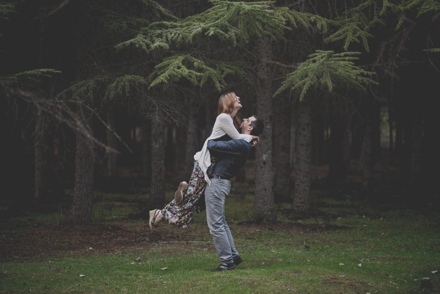 Fatima y Antonio. Pre Boda en el Bosque. Fran Ménez Fotografos de Boda 13