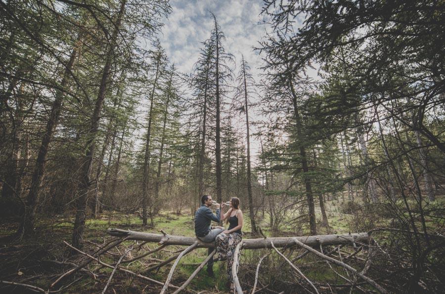 Fatima y Antonio. Pre Boda en el Bosque. Fran Ménez Fotografos de Boda 2