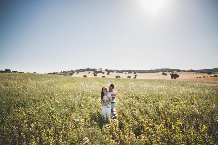 Marina y Dani. Fotografias de Pre Boda en el campo. Fran Menez Fotografo de Bodas 1
