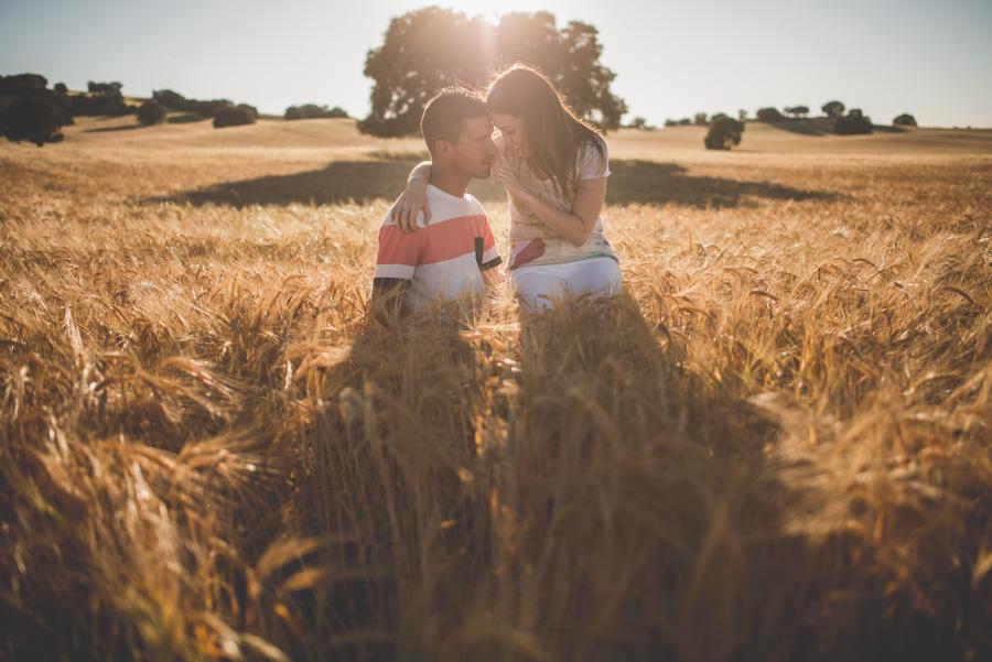 Marina y Dani. Fotografias de Pre Boda en el campo. Fran Menez Fotografo de Bodas 12