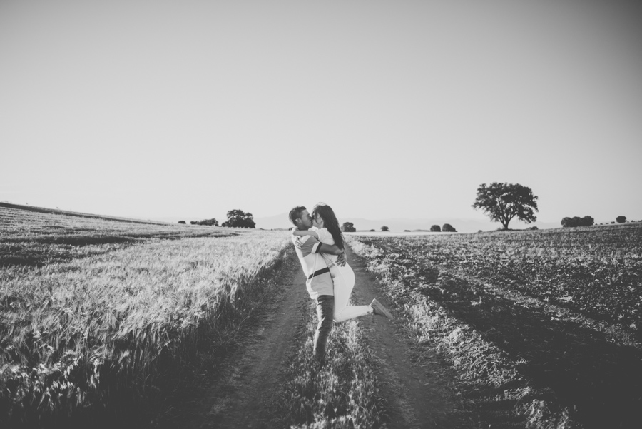 Marina y Dani. Fotografias de Pre Boda en el campo. Fran Menez Fotografo de Bodas 18