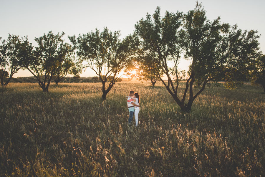 Marina y Dani. Fotografias de Pre Boda en el campo. Fran Menez Fotografo de Bodas 26