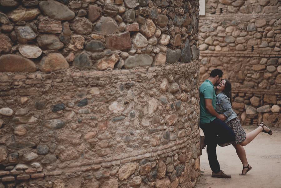 Pre Boda en exteriores de la Alhambra. Nuria y Enrique 1