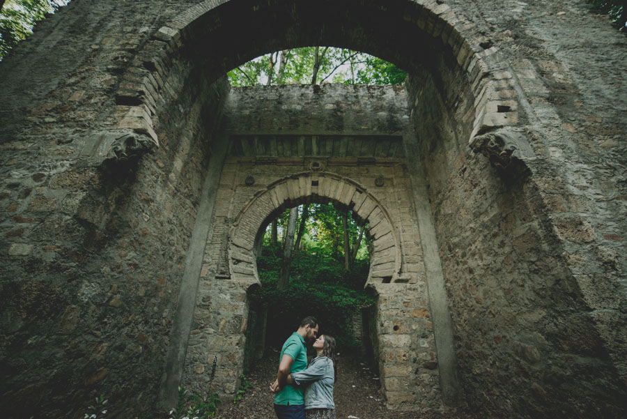 Pre Boda en exteriores de la Alhambra. Nuria y Enrique 25