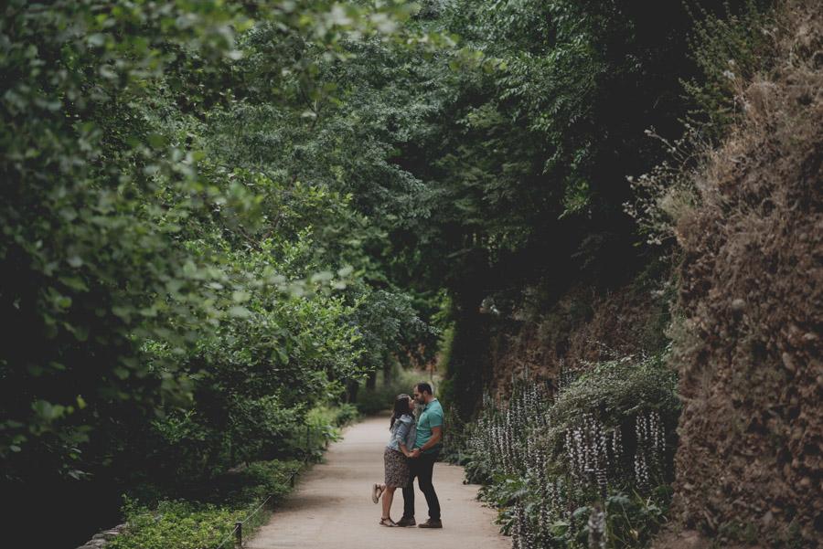 Pre Boda en exteriores de la Alhambra. Nuria y Enrique 3