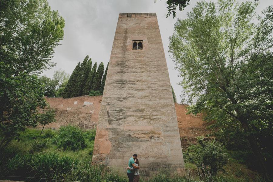 Pre Boda en exteriores de la Alhambra. Nuria y Enrique 8