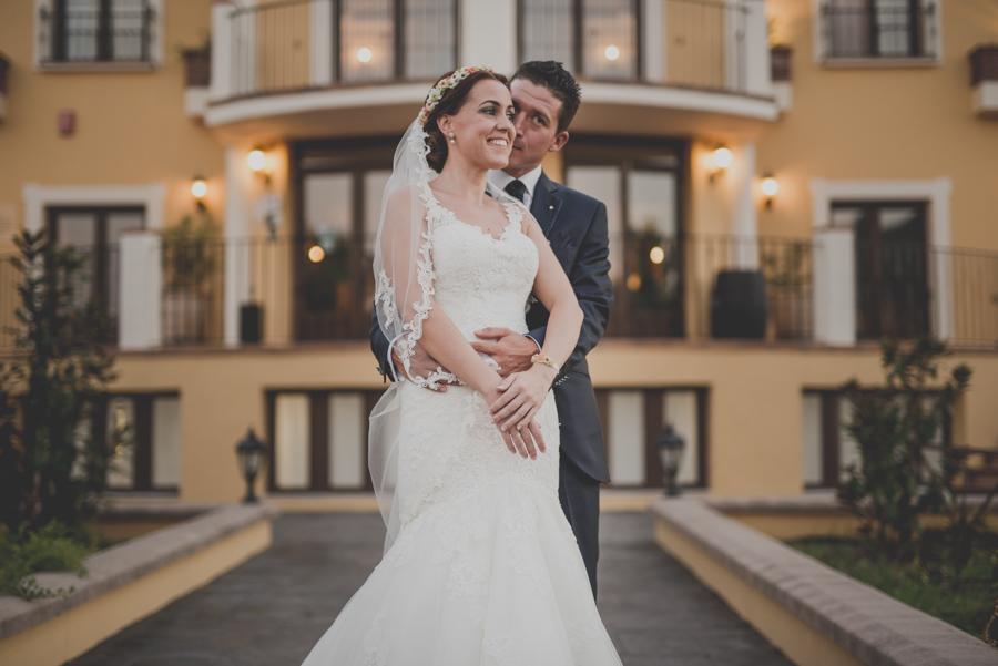 Boda en el Hotel Llano Piña, Loja, Granada. Fotógrafo de Bodas en Loja. Marina y Dani