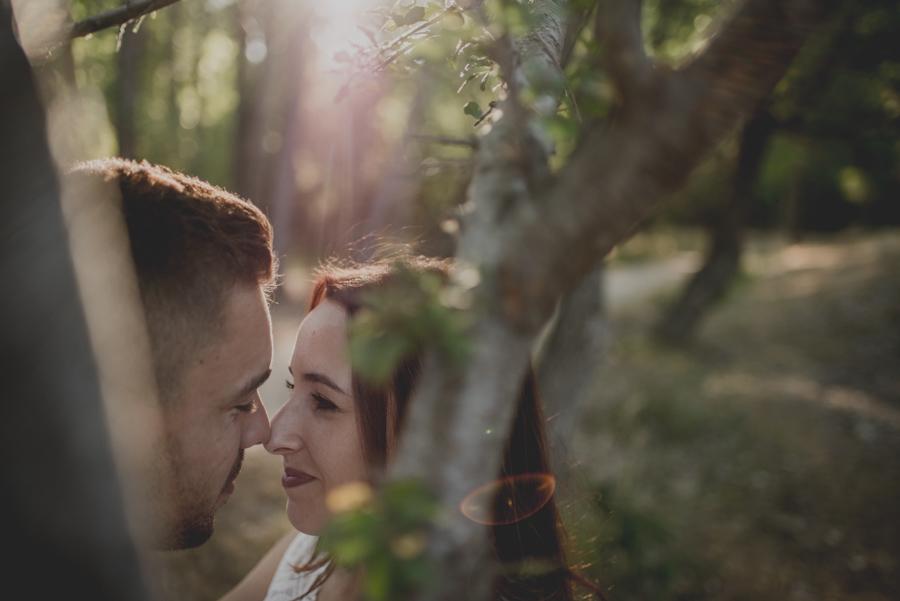 Alicia y Juan. Pre Boda en el Bosque de Huetor Santillan. Fran Ménez Fotografos de Boda 10