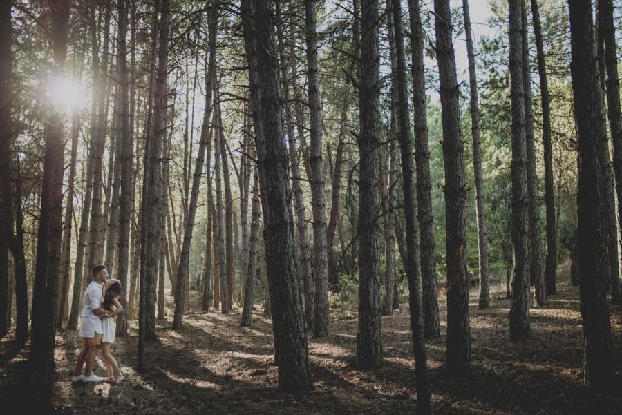 Alicia y Juan. Pre Boda en el Bosque de Huetor Santillan. Fran Ménez Fotografos de Boda 3