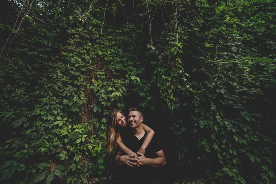 Pre Boda Maria y Nacho. Fotografias de Pre Boda en el Bosque de la Alhambra. Fran Ménez Fotógrafo 4