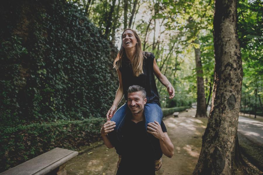Pre Boda Maria y Nacho. Fotografias de Pre Boda en el Bosque de la Alhambra. Fran Ménez Fotógrafo 9