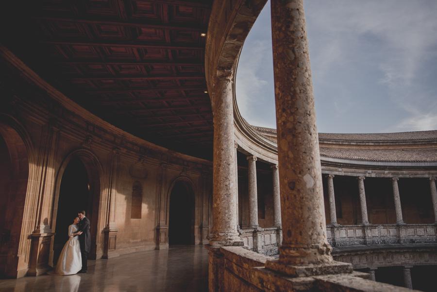 Post Boda en los alrededores de la Alhambra. Fran Menez Fotógrafos de Boda en Granada. 23
