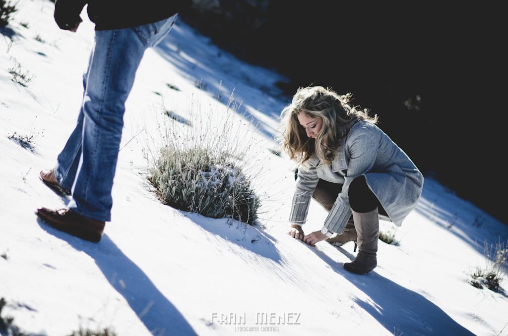2a Fotografia de Pre Boda en Granada Sierra Nevada