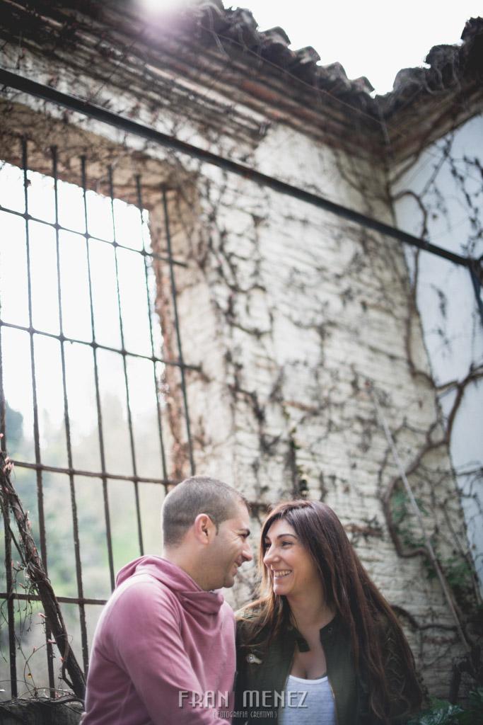 6 Fotografo de bodas Granada. Paseo de los Tristes. Palacio de los Cordova. Fran Menez. Fotografia Creativa