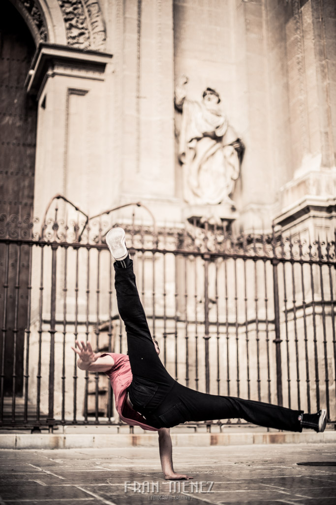 3 Fotografo en Granada. Fotografia Creativa en Granada. Fotografo diferente en Granada. Fotografo Break Dance en Granada