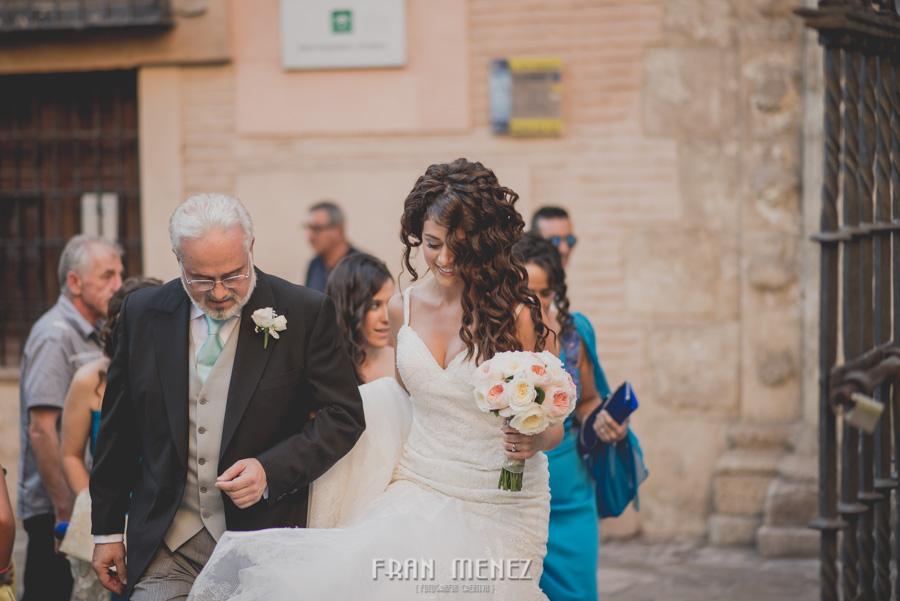 Fran Ménez Fotógrafo de Bodas en Granada. Iglesia de San Pablo y San Pedro. Carmen de los Chapiteles. Fotografía de Boda. 59